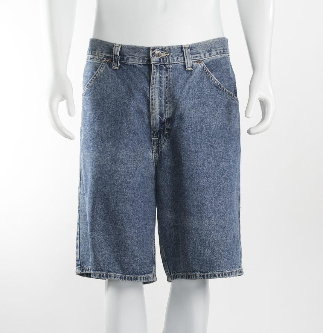 74036870e GAP - Bermuda masculina jeans - Brechó Agora é Meu!