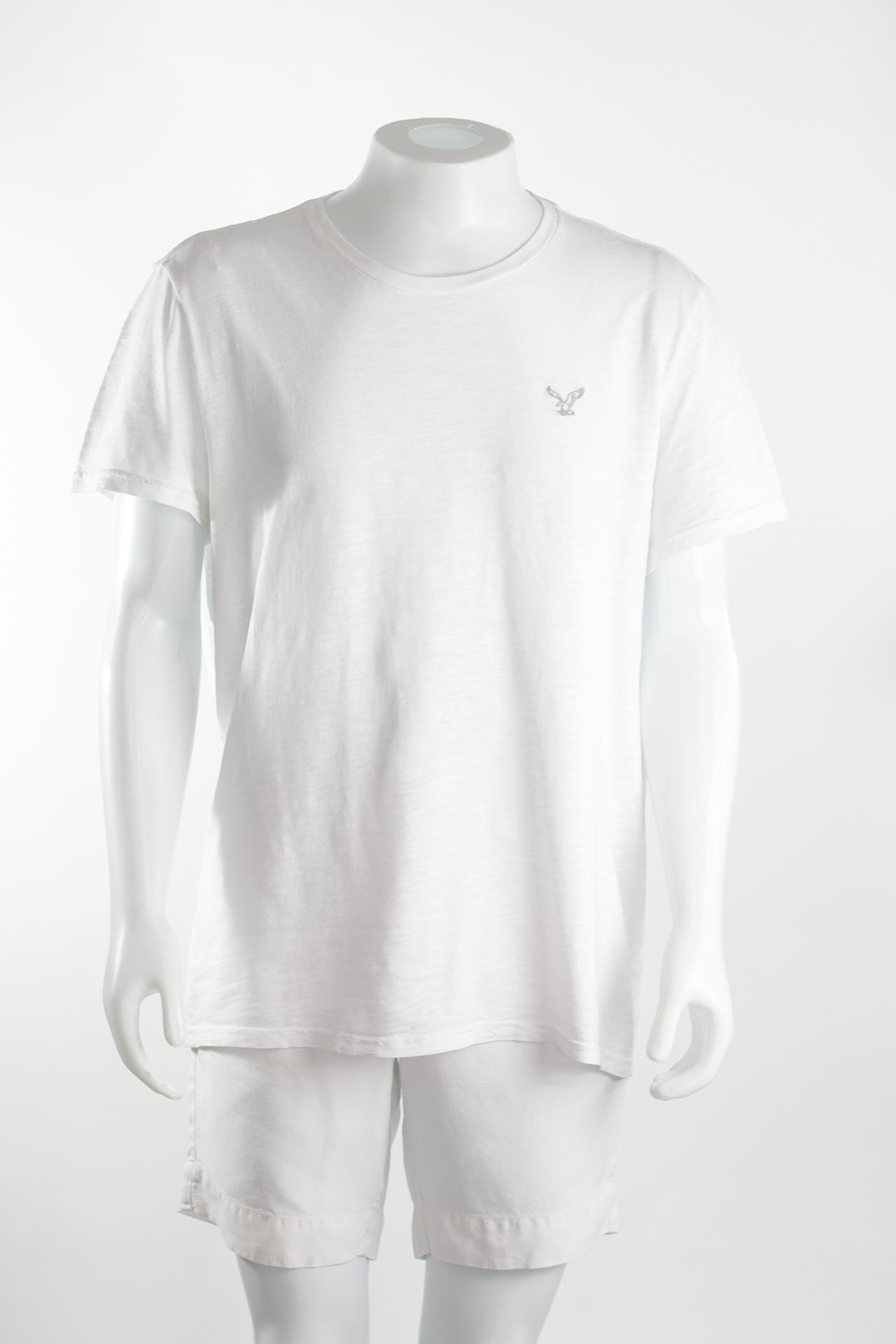ca7f7be74b AMERICA EAGLE- Camiseta masculina branca - Brechó Agora é Meu!