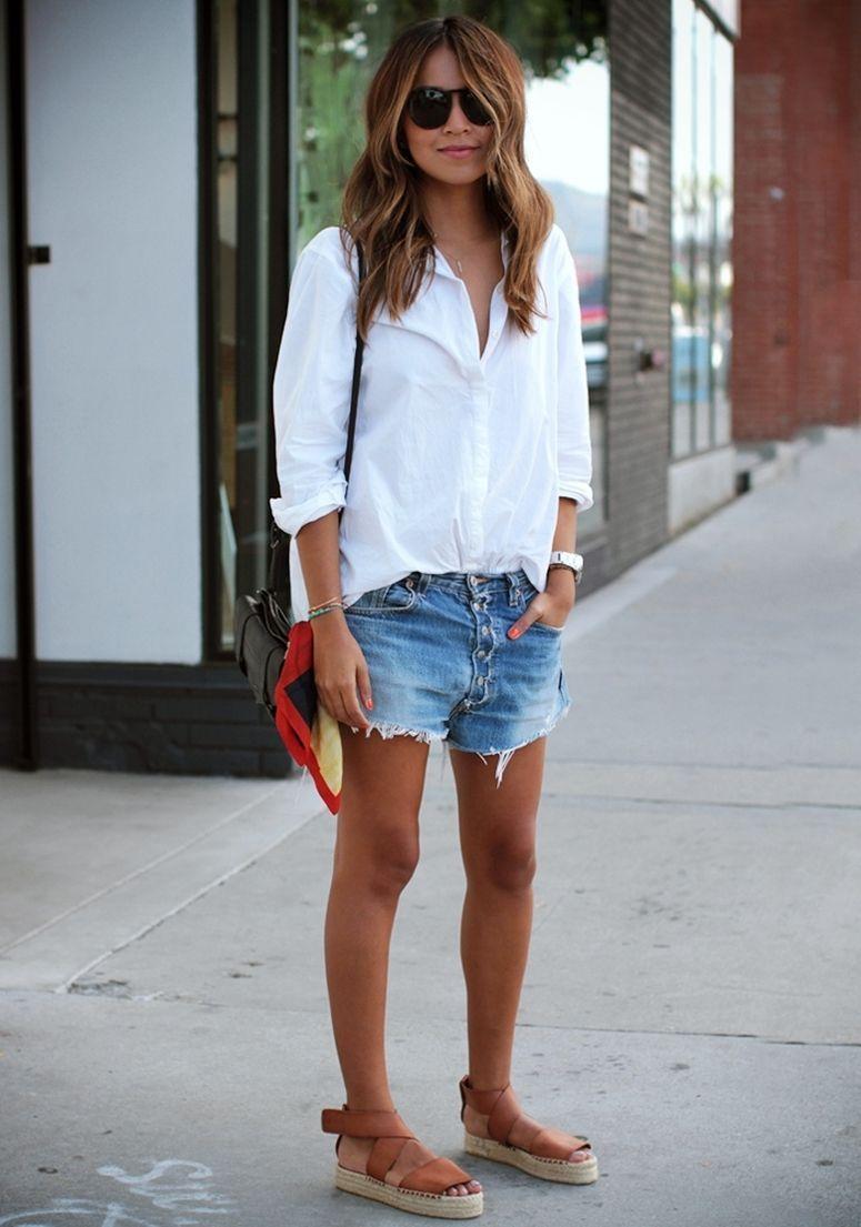 Básico com camisa branca